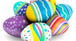 Oficinas de Páscoa - Oficinas de Artes Plásticas - Ovos de Páscoa