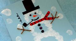 Oficinas - Oficina do Boneco de Neve