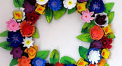 "Workshop ""Guirlandas de Flores de Papel"""