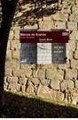 """Percursos  pela cidade histórica, orientados para o tema das """"Marcas de Granito""""."""