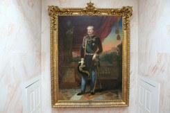 Retrato de Carlos Alberto de Saboia, Rei do Piemonte e da Sardenha