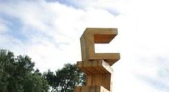 RUI ANAHORY Esculturas de exterior no Jardim Pomar da Galeria Rui Alberto
