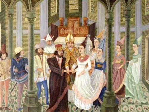 Uma Festa no séc. XIV - O Casamento do Rei D. João com D. Filipa de Lencastre