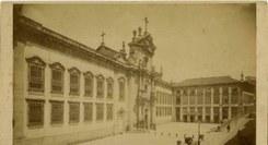 Vestígios de um convento  que... marcou a cidade