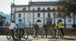 Visita interpretada «Geobike» pelo centro histórico de Arouca