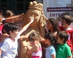 Visita sensorial à exposição permanente do Museu de Lamas