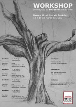 Workshop – Introdução ao Desenho à mão livre