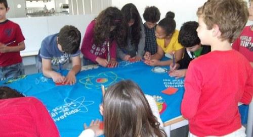 """Workshop de experimentação científica – """" À Conquista do mar"""""""
