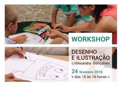 Workshop Desenho e Ilustração por Alexandra Gonçalves